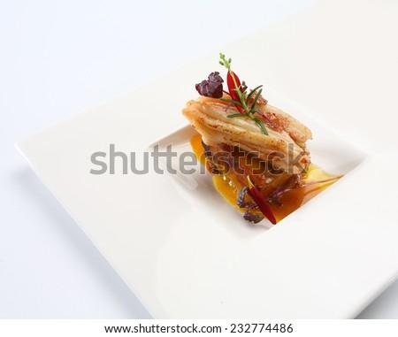 food gourmet - stock photo