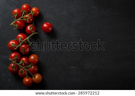 Food Ingredients Tomato - stock photo