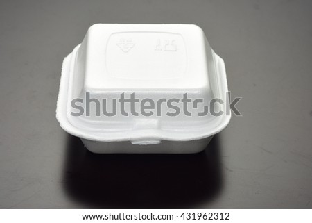 Food packaging or box container make to pollution