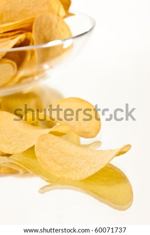 food series: close up pic of potato chips