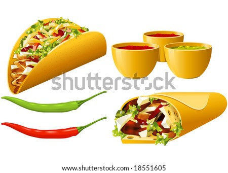 Food series - Mexican - stock photo