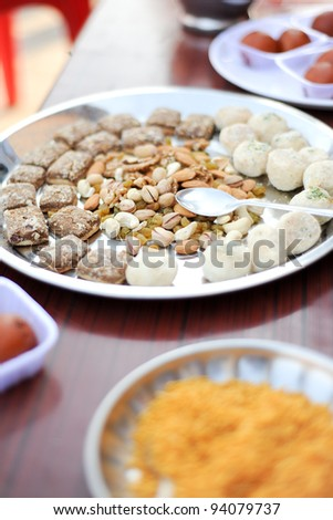 food South Indian food idli vada - stock photo