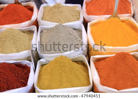 food spices - stock photo