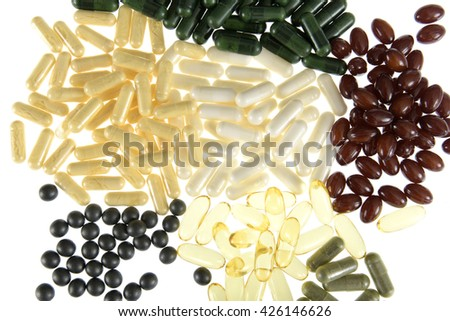 food supplement pills