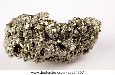 fools gold - stock photo