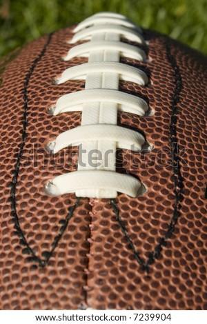 Foot Ball close up - stock photo