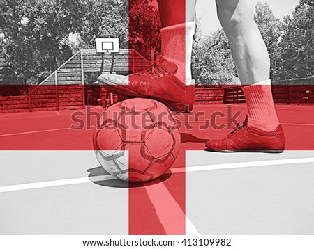 Foot on the ball