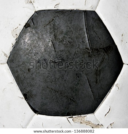 football ball texture or close up. - stock photo