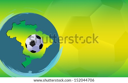 Football Cup design - stock photo