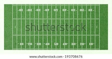 football field green paper - stock photo