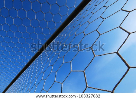 football goal net win winner champion soccer sport game background for design