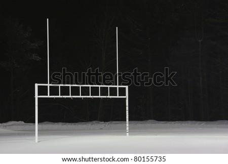 Football off season - stock photo