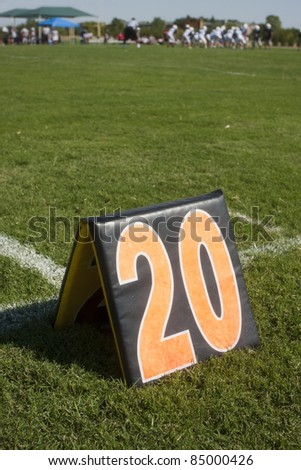 Football practice - stock photo