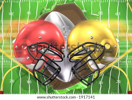 Football Season - stock photo