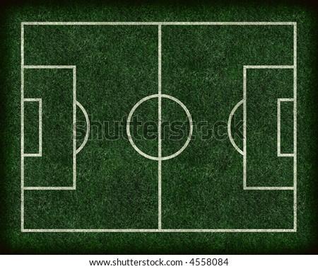 Football / Soccer Field - stock photo