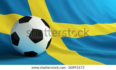 football Sweden - stock photo