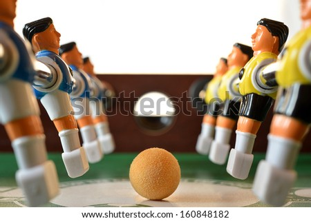 Football table. - stock photo