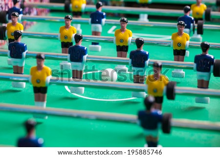 football table - stock photo