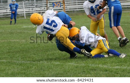 Football Tackle - stock photo