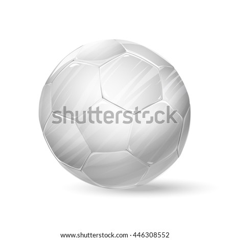 football white ball. raster