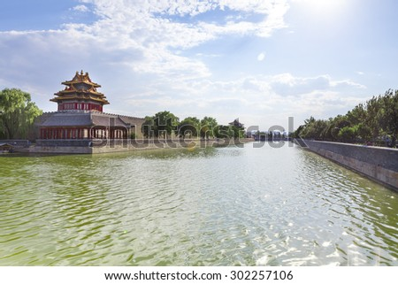 forbidden city-Beijing/forbidden city-Beijing - stock photo