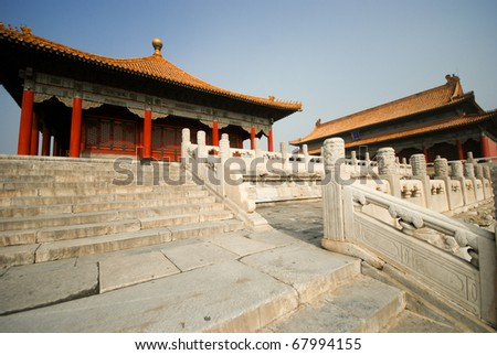 Forbidden city, china, Beijing - stock photo