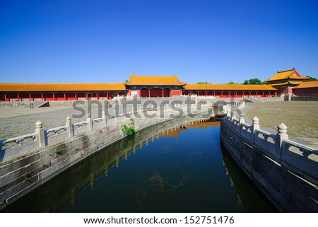 Forbidden city is the landmark in Beijing.It was built in 1420,and had been included in the UNESCO world heritage list in 1987,there is the best preserved ancient royal palace