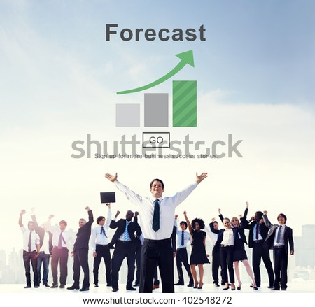 Forecast Estimate Future Planning Predict Strategy Concept - stock photo