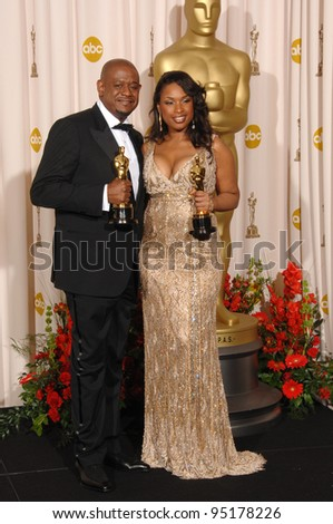 Forest Whitaker & Jennifer Hudson at the 79th Annual Academy Awards at the Kodak Theatre, Hollywood. February 26, 2007  Los Angeles, CA Picture: Paul Smith / Featureflash