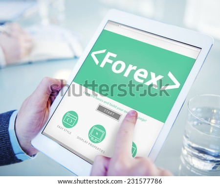 Forex Exchange Trade Change Barter Concepts - stock photo