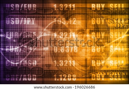 Forex Market Analysis for Business Commerce - stock photo