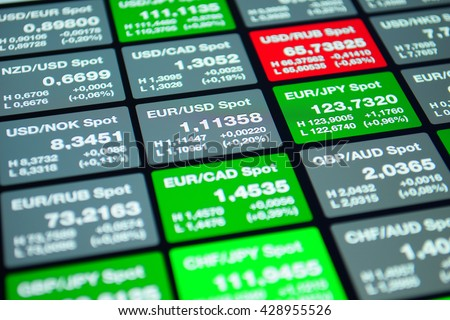 Currencies forex market
