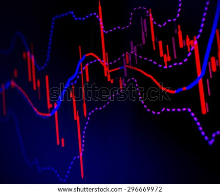 Forex trading business concept - stock photo