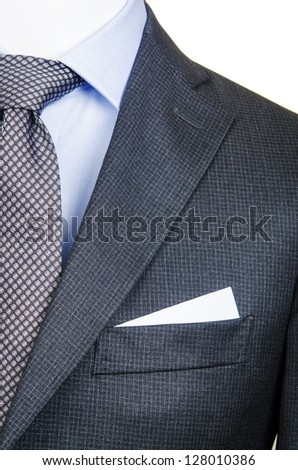 Formal suit in fashion concept - stock photo