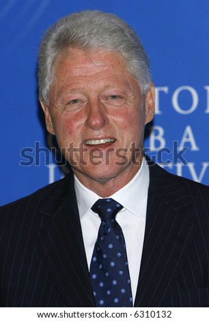 Former president Bill Clinton - stock photo