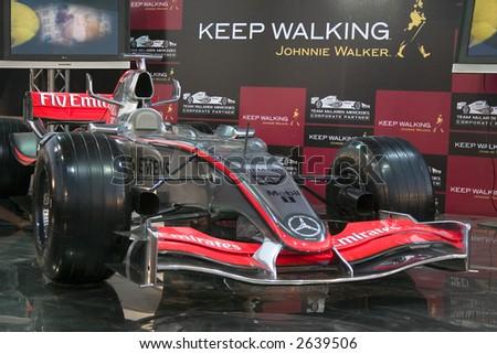 Formula 1 McLaren Mercedes - stock photo