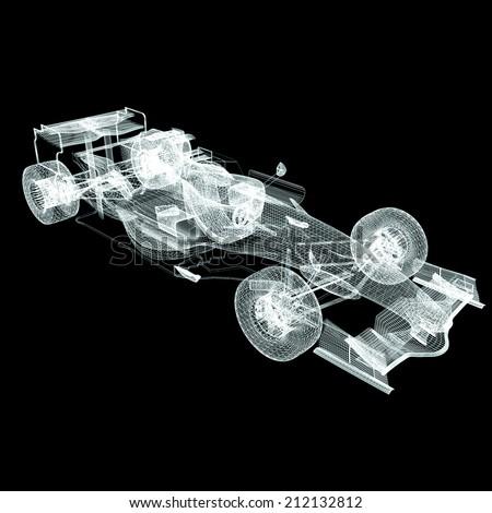 Formula One Mesh - stock photo