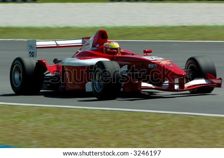 Formula Renault V6 Asia single seater race - stock photo