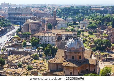 Foro Romano. Rome. Italy. - stock photo