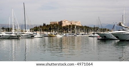 Fort Carre, Antibes, Cote d'Azur, France