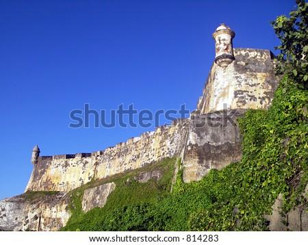 Fort El Morro - Old San Juan, Puerto Rico - stock photo