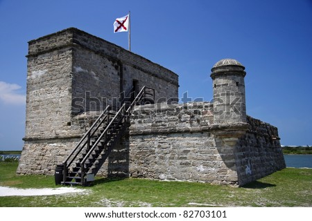 Fort Matanzas National Monument, St. Augustine, Florida - stock photo