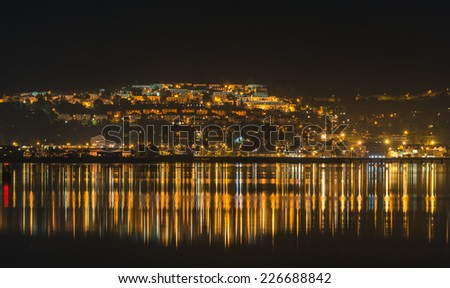 Fort William Town at night
