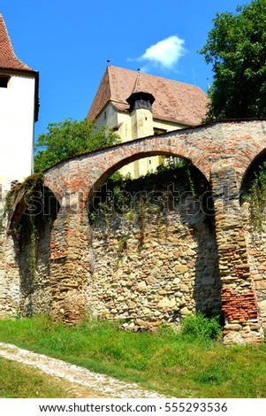 Fortified medieval church Biertan, Transylvania, one of the most important Saxon villages with fortified churches in Transylvania, having been on the list of UNESCO World Heritage Sites since 1993.