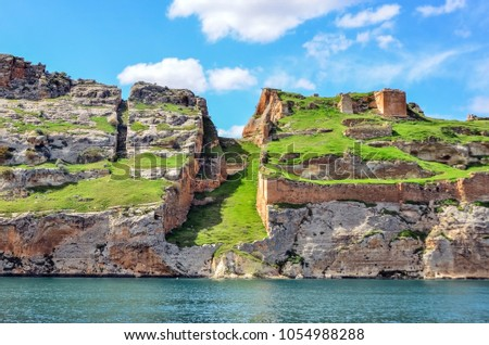stock-photo-fortress-of-rumkale-halfeti-