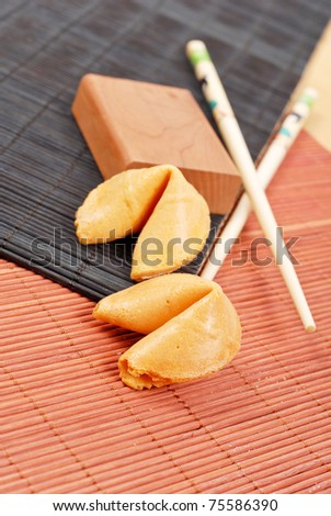 Fortune Cookies - stock photo