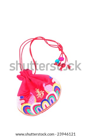 fortune purse - stock photo