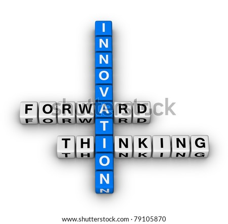 forward thinking innovation crossword puzzle