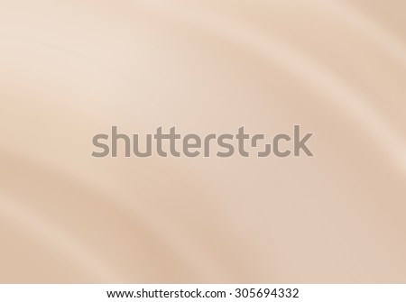 Foundation cream wave with close up shot can use for background, illustration and other - stock photo