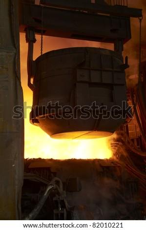foundry - stock photo